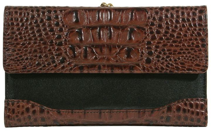 Brahmin classic tuscan collection checkbook clutch