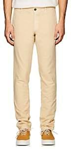 Incotex Men's S-Body Slim Cotton Gabardine Trousers - Beige, Tan