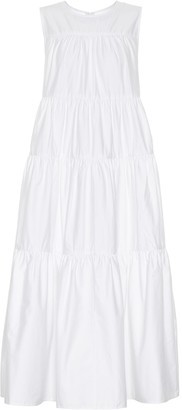 Co Cotton sateen dress