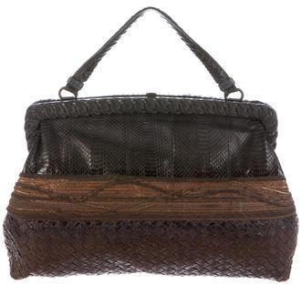 Bottega VenetaBottega Veneta Intrecciato Passamaneria Frame Bag