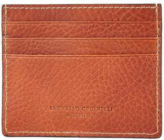 Brunello Cucinelli Leather Card Holder