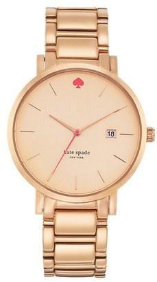Women's Kate Spade New York 'Gramercy Grand' Bracelet Watch, 38Mm $225 thestylecure.com