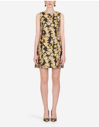 Dolce & Gabbana Short Lurex Jacquard Dress