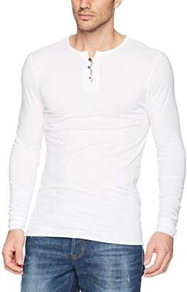 Threads 4 Thought Men's Sustainable Organic Cotton Long Sleeve Henley