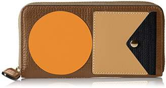 Orla Kiely Punched Stem Big Zip Wallet Wallet