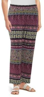 Context Plus Paisley-Print Pants
