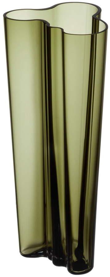 Aalto Vase Finlandia 255 mm, Moosgrün