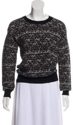 IRO Fur Blend Knitted Sweater