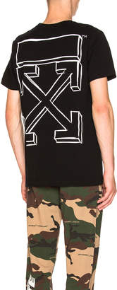 Off-White Off White Marker Arrows Tee