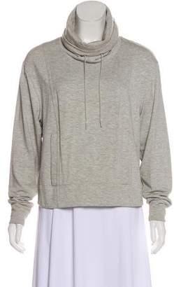 Helmut Lang Rollover Long Sleeve Sweatshirt