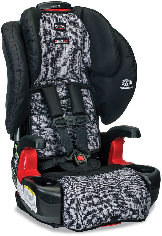 BritaxBRITAX Pioneer (G1.1) XE Series Harness-2-Booster Seat with Mat and Shades in Static