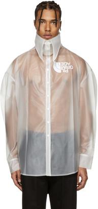 Hood by Air Transparent Latex Pilgrim Shirt $550 thestylecure.com