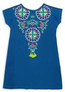 Hatley Toddler's& Little Girl's Embroidered Tassel Dress