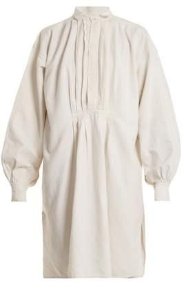 Kilometre paris Kilometre Paris - Cayo Levisa Embroidered Linen Shirtdress - Womens - Multi