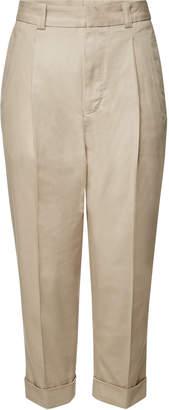 Acne Studios Cropped Cotton Pants