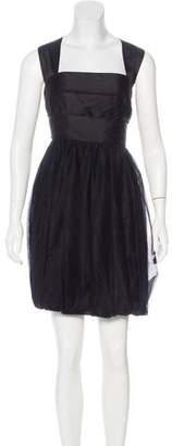 Robert Rodriguez Sleeveless Overlay Dress