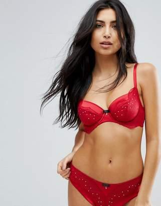 Hunkemoller Red Temptation Arline Bra