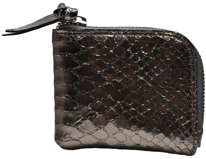 Maison Martin Margiela python zip wallet