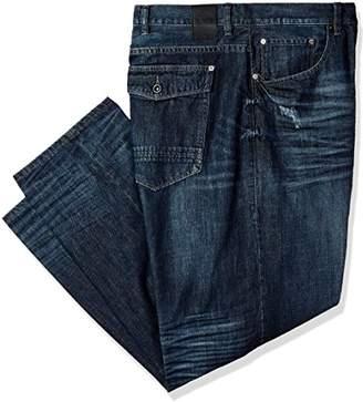 ffa37d1344674c at Amazon Canada · Sean John Men's Big and Tall Patch Pocket Hamilton Jean,  ...
