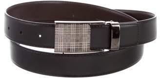 Burberry Leather Buckle Belt w/ Tags