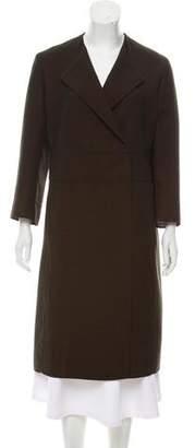 Akris Long Wool Coat