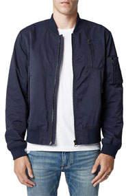 Men's Pocket-Detail Bomber Jacket