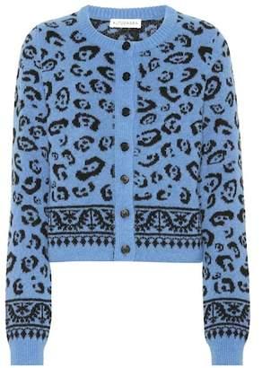 Altuzarra Meknes leopard wool-blend cardigan
