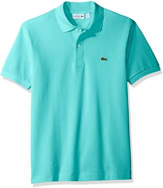 Lacoste Men's Short Sleeve Pique L.12.12 Original Fit Polo Shirt, L1212