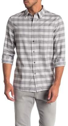 Slate & Stone Trim Fit Flat Hem Shirt