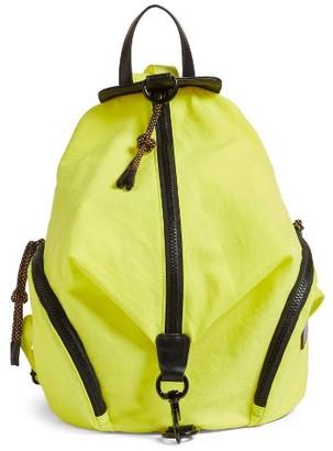 Rebecca Minkoff Julian Nylon Backpack - Green $145 thestylecure.com