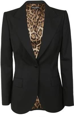 Dolce & Gabbana Fitted Reversable Blazer