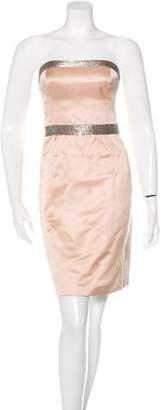 Marc Jacobs Embellished Strapless Dress