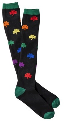 Xhilaration Juniors Saint Patrick's Day Knee High Socks - Assorted Colors/Patterns