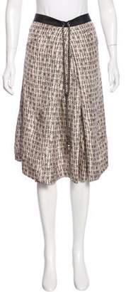 Thomas Wylde Embellished Silk Skirt