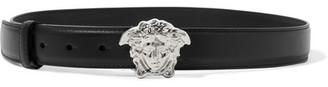 Versace - Leather Belt - Black