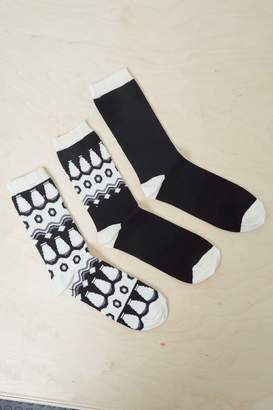French Connenction Vera 3 Pack Socks