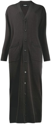 DSQUARED2 long length cardi coat