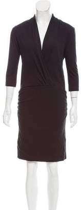 Surface to Air Ruched Knee-Length Dress