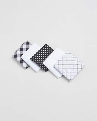 Geoffrey Beene Handkerchiefs 5-Pack