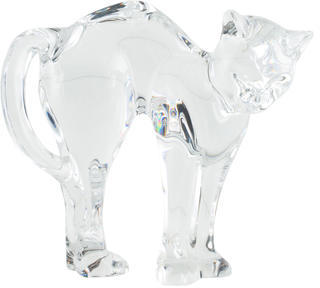 Baccarat Baccarat Crystal Cat Figurine
