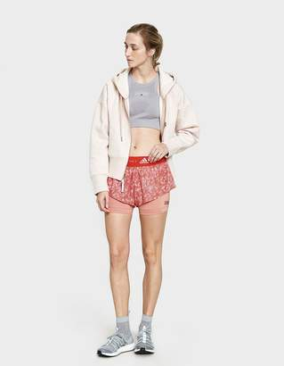adidas by Stella McCartney 2-in-1 Printed Running Short in Cinnamon