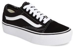 Women's Vans Old Skool Platform Sneaker $64.95 thestylecure.com