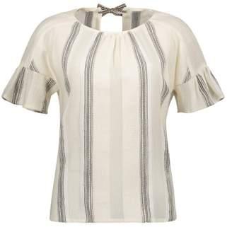 Sessun Sale - Patmos Slit Back Striped Blouse