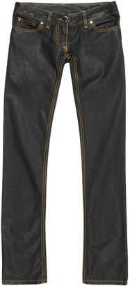 Elisabetta Franchi Denim pants - Item 42636466NI