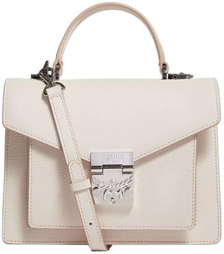 MCM Small Leather Patricia Satchel