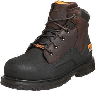 "Timberland Men's 47001 Power Welt Waterproof 6"" Steel-Toe Boot Brown/Brown 11 W"