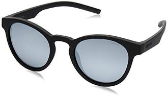 Polaroid Unisex's PLD 7021/S EX 807 Sunglasses, Black Grey
