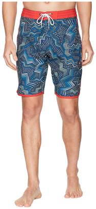 VISSLA Testa Four-Way Stretch Boardshorts Men's Swimwear