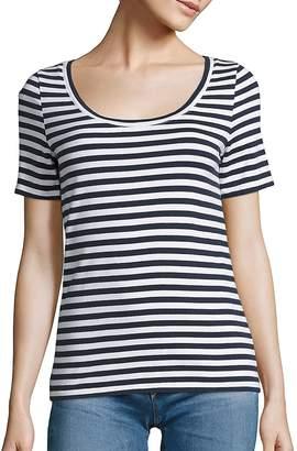 AG Jeans Women's Breton Striped Cotton Tee