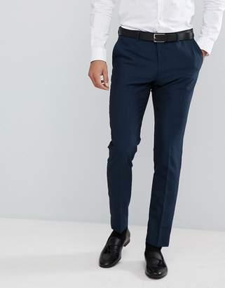 Moss Bros Skinny Tuxedo Suit Pants